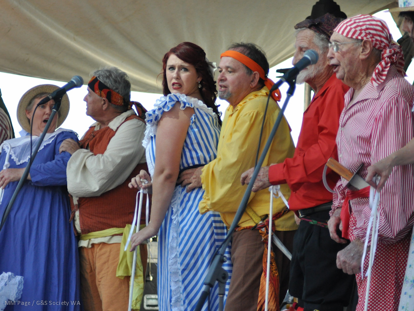 "The ""Potted"" Pirates of Penzance; Summerset Arts Festival 2011"