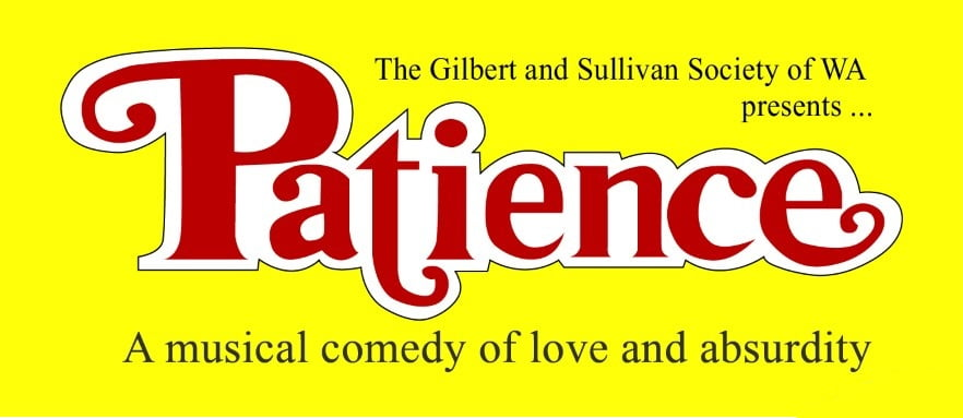 Patience - tickets on sale now!